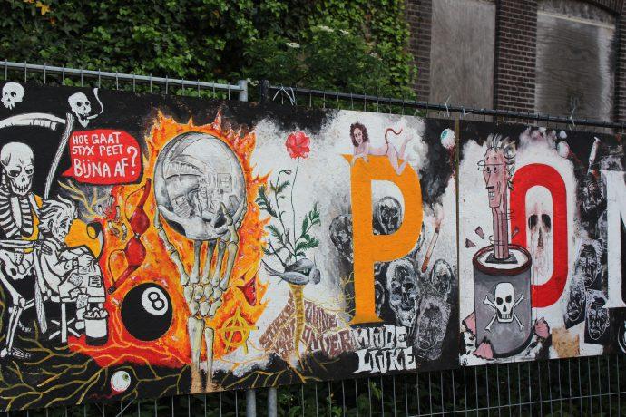 peter pontiac trubute mural