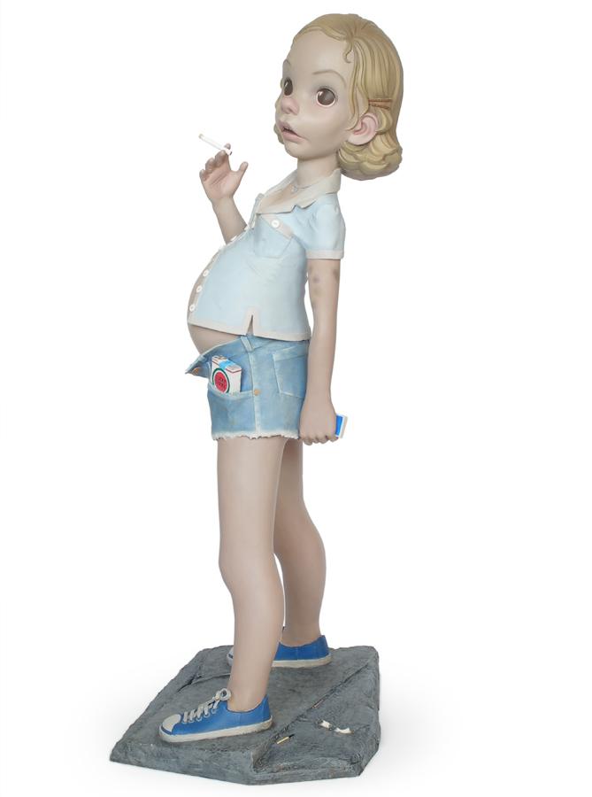 aileen wuornos pregnant teenager sculpture harma heikens