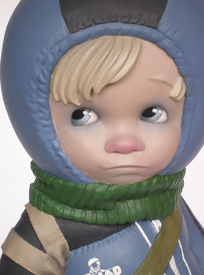 little boy with rat postapocalyptic scene harma heikens detail