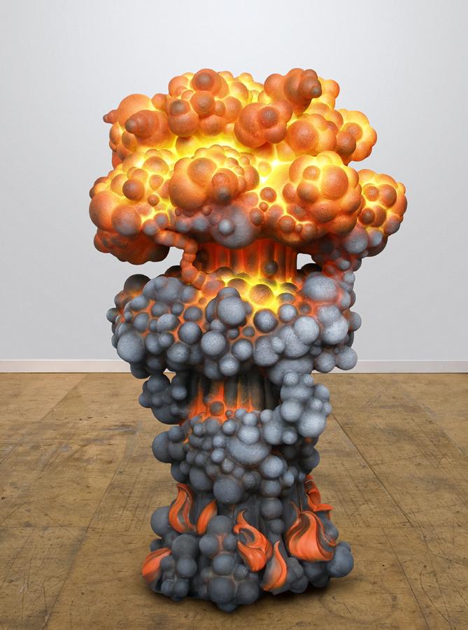 explosion sculpture harma heikens