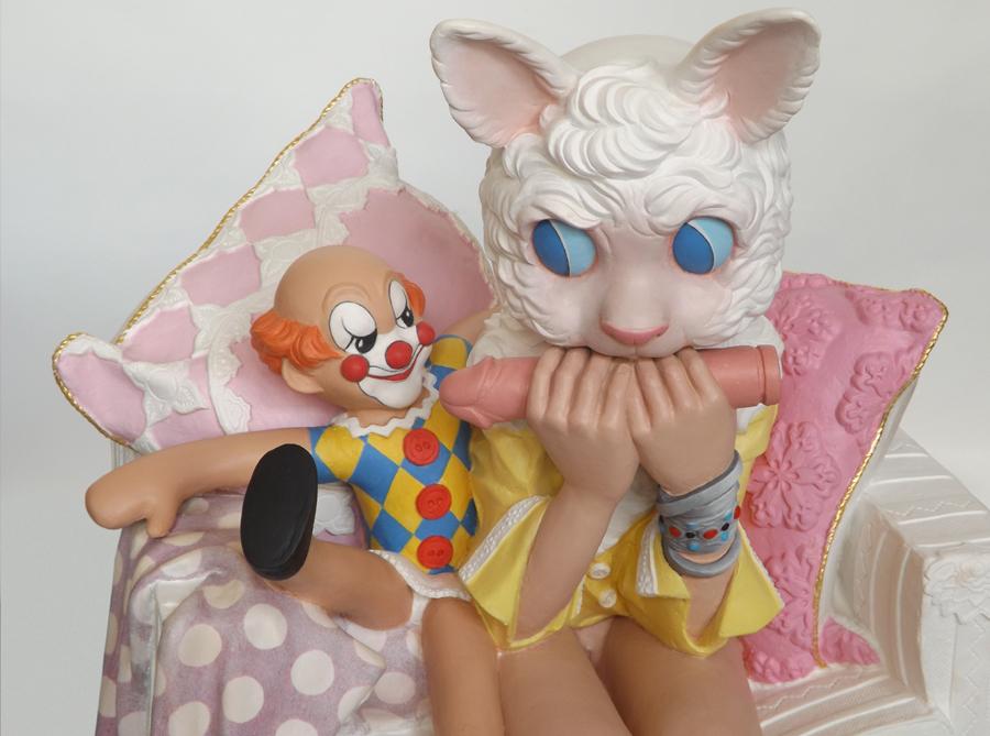 child abuse sculpture harma heikens