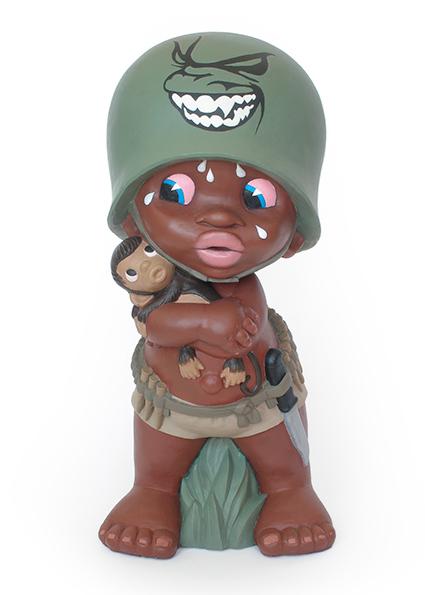child soldier sculpture harma heikens