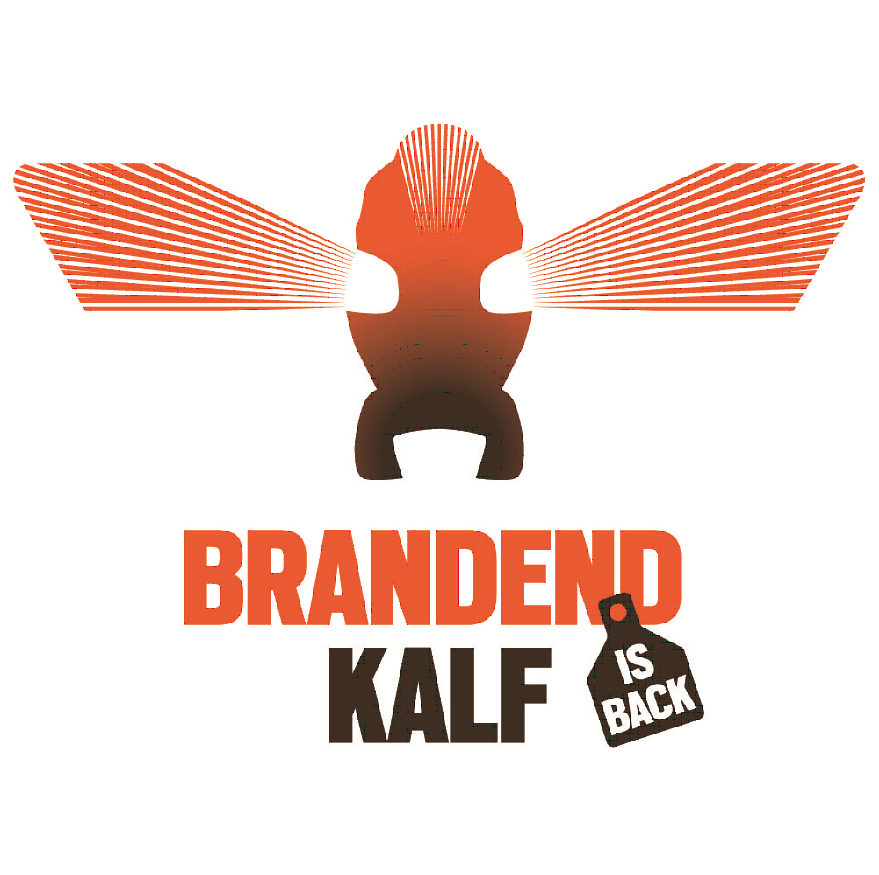 brandend kalf logo
