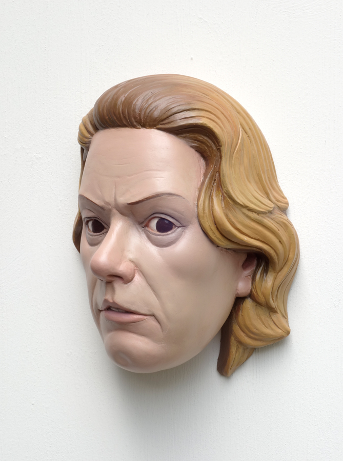 wallbust of aileen wuornos by h. heikens